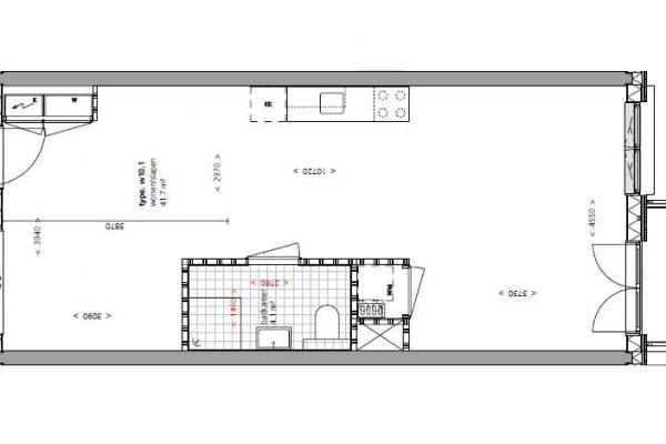 Fase 3 galerij eenkamerwoningen 1